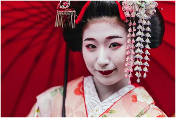 Japanese Geisha Turned Taiwan Escort Service Photo